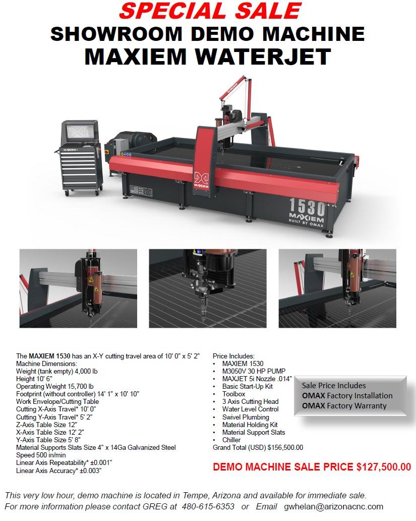 Waterjet Sale
